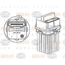 HELLA 5ds351320-011 (6441S7) блок управления системы отопления / охлаждения Citroen (Ситроен) c4
