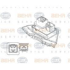 HELLA 5HL351321-231 (8693262 / 9171541 / 5HL351321231) блок управления отопление / вентиляция - легковой автомобиль