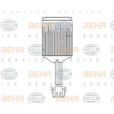 HELLA 5hl351321-281 (6Q1907521B / 6Q1907521 / 6Q1907521A) блок управления системы отопления / охлаждения VW Polo (Поло) / Ibiza (Ибиза) (pq24)