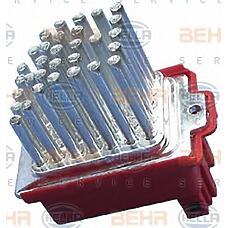 HELLA 5HL351321591 (1J0907521 / 357907521 / 1049849) резистор отопителя салона Audi (Ауди) / VW / Skoda (Шкода) a3 / a4 / Octavia (Октавия) 1u / Golf (Гольф) 4 / t5 с климатом