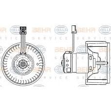 BEHR-HELLA 8EW009157-171 (31320393 / 9171479) электродвигатель вентилятора салона