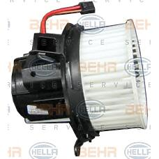 BEHR-HELLA 8EW351043-101 (2128200708 / A2128200708) электродвигатель вентилятора салона