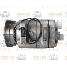 HELLA 8FK351127671 (8D0260805D / 8D0260805M / 8D0260805F) компрессор кондиционера Audi (Ауди) a4 / a6 / VW Passat (Пассат) b5 97-05