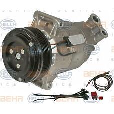 HELLA 8fk351135-801 (6854059 / 6854062 / 13124750) компрессор кондиционера Opel (Опель) / vauxhall Astra (Астра) h