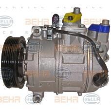 HELLA 8fk351322-811 (7L6820803J / 7L6820803T / 7L6820803Q) компрессор кондиционер - легковой автомобиль - 12v