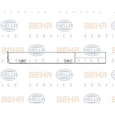 BEHR-HELLA 8FT351197-661 (2118350047 / A2118350047 / 0010028V002000000) осушитель кондиционера