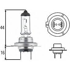 HELLA 8GH007157241 (1277502 / 1637338 / 10022145) лампочка передней фары
