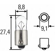HELLA 8gp007676-121 (41223912) лампа xenon 12 V 6 w