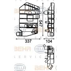 HELLA 8MA376705-071 (1607794 / 1295910 / 12959101607794) компенсационный бак охлаждающая жидкость - автомобиль коммерч. назначения