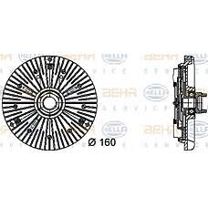 BEHR-HELLA 8MV376732-031 (059121350H / 059121350G / 059121350F) муфта гидравлическая
