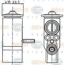HELLA 8UW351239-021 (2028300184 / 2108300084 / 1688300084) расширительный клапан системы кондиционирования