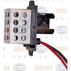 HELLA 9ml351332-181 (7701034875 / 2710000QAC / 2710000QAC7701034875) блок управления системы отопления / охлаждения Renault (Рено) clio