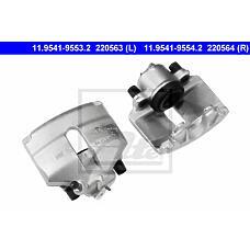 ATE 11.9541-9554.2 (1K0615124B / 1K0615124E / 1K0615124) суппорт тормозной пер.п. Audi (Ауди) a3, VW Golf (Гольф) V 03> ate diam.54.0