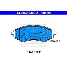 ATE 13.0460-5899.2 (96534653 / 94566892 / 95231012) колодки тормозные дисковые