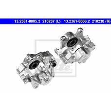 ATE 13.2361-8005.2 (0014205783 / 14205883 / 14205783) суппорт тормозной зад. л.\ mb w210 2.8 / 3.2 / 4.2 95>