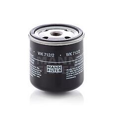 MANN-FILTER WK 712/2 (1502254 / 441887 / 1174424) фильтр топл. \ atlas (terex), bobcat, bomag, demag (compair)