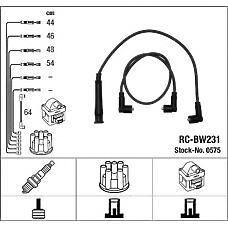 NGK 0575 (12121705697 / 1705697 / ZEF575) высоковольтные провода BMW (БМВ) 3 (e30) rc-bw231