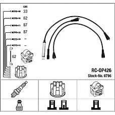 NGK 0796 (1612473 / 90295495) провода высоковольтные, комплект
