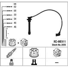 NGK 2555 (MD332110 / MD332100 / RCME111) комплект в / в проводов rc-me111