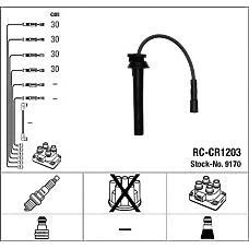 NGK 9170 (05018394AA / 5018394AE / RCCR1203) комплект в / в проводов rc-cr1203