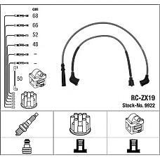 NGK 9922 (ZX1918140 / 8AB218140 / 8BBR18140) провода высоковольтные, комплект