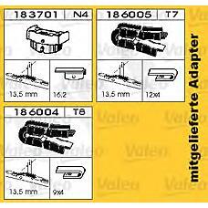 Swf 132650  щетка стеклоочистителя 650мм / см. замену