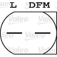 VALEO 440182 (A6461540902 / A64615409020080 / 6461540902) генератор