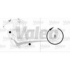VALEO 455697 (MD308088 / SMD308088 / 455697_VL) стартер Mitsubishi (Мицубиси) d6ra76