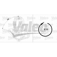 VALEO 458188 (1202002 / 1202127 / 1202959) стартер 0.9kw\ Opel (Опель) Astra (Астра) / vectra 1.6, Daewoo (Дэу) Nexia (Нексия) 1.5 / 16v 95-05