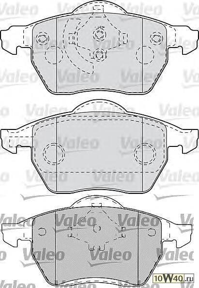 Колодки тормозные AUDI: A4 (2000>2004) 1.6i