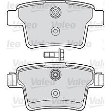 VALEO 598740 (1356392 / C2S48024 / 1522073) vl598740 колодки дисковые задние Ford (Форд) Mondeo (Мондео) 1.8sci / 2.2tdci / 3.0 v6 24v 03>
