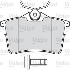 VALEO 601042 (425414 / 425429 / 425415) колодки тормозные дисковые