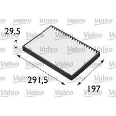 VALEO 698662 (6808606 / 1808610 / 13175553) фильтр салона opel: Astra (Астра) g (98>2005) 1
