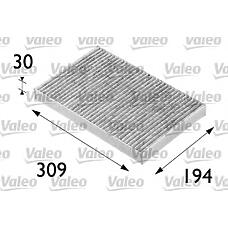 VALEO 698682 (4B0819439A / 4B0091800 / 4A0819430A) фильтр салона audi: a6 (97>2001) 1.8i,
