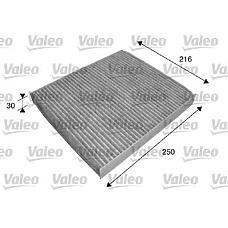 VALEO 698739 (6Q0819653 / 4638300018 / 6Q0819653B) фильтр салона audi: a2 (2000>2005) 1.2t