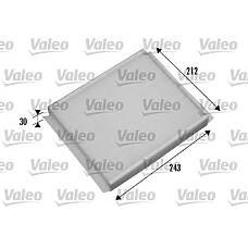 VALEO 698876 (6808604 / 93174800) фильтр салона opel: Meriva (Мерива) 1.3cdti, 1.4
