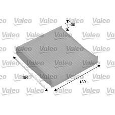 VALEO 698886 (80291SAAE01 / 9586062J00 / 71743821) фильтр салонный Honda (Хонда) Jazz (Джаз) / Suzuki (Сузуки) Swift (Свифт) 02-