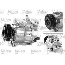 VALEO 699357 (1K0820803G / 1K0820803Q / 1K0820859F) Компрессор кондиционера (новый) AUDI A3,SKODA Octavia,VW Passat B6,Touran,Golf V,Tiguan