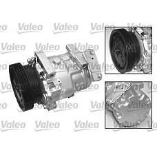 VALEO 699914 (8200603434 / 8200117767 / 7711368564) компрессор кондиционера Renault (Рено) logan / sandero / Kangoo (Кангу) / duster 1.4 / 1.6