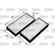 VALEO 715523 (97619FD200 / 0K9A46152XA / 0K9A46152X) фильтры салона комплект