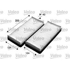 VALEO 715531 (2108300018 / 2108301018) фильтр салона