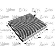 VALEO 715641 (8713950030 / 87139YZZ01) фильтр салона lexus: gs 430 4.3i;ls430