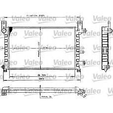 VALEO 730483 (89FB8005AE / 6176237 / 1004039) радиатор системы охлаждения\ Ford (Форд) Fiesta (Фиеста) 1.1-1.3 89-96