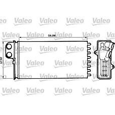 VALEO 812037 (95651001 / 644889) отопитель citroen: xm (89>94) 2.0,