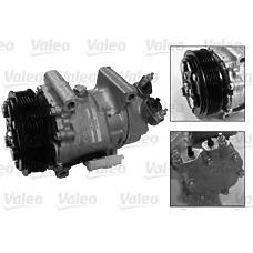 VALEO 813189 (6453LF / 6453JL / 6453KS) компрессор кондиционера Citroen (Ситроен) / Peugeot (Пежо) c2 / c3 / Xsara (Ксара) / partner / 206 / 307 / berlingo