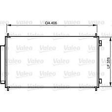VALEO 814232 (80110SWAA01) радиатор кондиционера Honda (Хонда) cr-v 07>