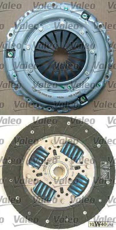 Комплект сцепления Citroen C5, Peugeot 407 2.0, 2.2 00>