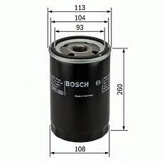BOSCH 0451103343 (1117285 / 478736 / 5001846642) фильтр масляный