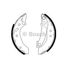 BOSCH 0986487240 (6500943 / 5027751 / 91AB2200GA) барабанные колодки