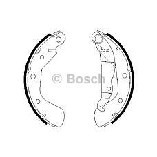 BOSCH 0 986 487 613 (1605041 / 9196291 / 16050419196291) колодки барабанные\ Opel (Опель) Astra (Астра) g 91-98
